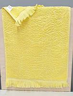 Кухонные махровые  полотенца хлопок Vip жаккард 30*50 (1шт) 400г/м2 (TM ZERON) желтый,Турция, фото 1