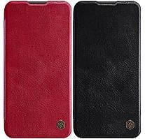 Кожаный чехол-книжка Nillkin Qin Series для Huawei P40 Lite / Nova 7i / Nova 6 SE