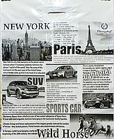 Пакет поліетиленовий Банан Газета 49 х60 см / уп-25шт