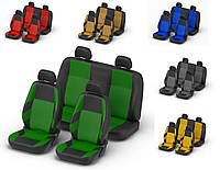 Авточехлы Kia Soul lІ  с 2013 г зеленые
