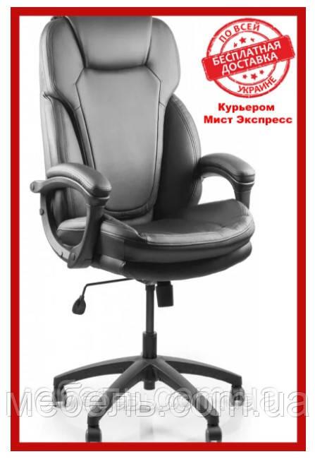 Офисное кресло Barsky SPU-01 Soft PU black, черный