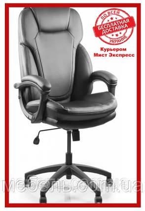 Офисное кресло Barsky SPU-01 Soft PU black, черный, фото 2