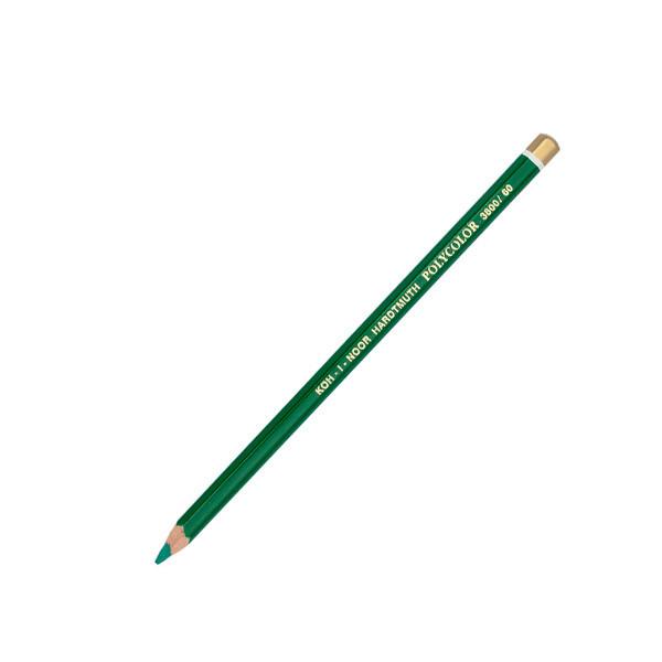 """Карандаш цв. """"K-I-N"""" Polycolor 3800-60 изумрудный зеленый"""