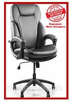 Офисное компьютерное кресло Barsky Soft Arm PU black SPUb-01