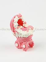 Фигурки из мастики - Младенец в коляске (девочка)