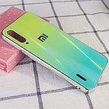 TPU+Glass чехол Gradient Aurora с лого для Xiaomi Mi A3 (CC9e), фото 2