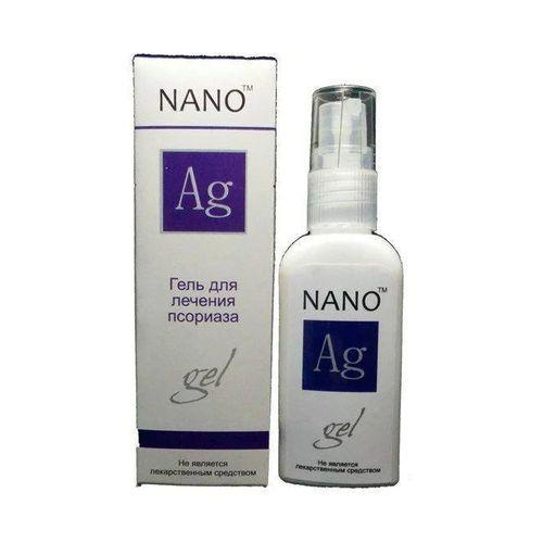 Нано гель от псориаза Ag Nano 50 мл