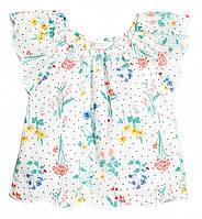 Блузка H&M для дівчинки 0458005009 128 см (7-8 years) білий  60207