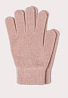 Перчатки H&M для дівчинки 0233091019 164 см (13-14 years) рожевий  60290