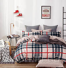 Комплект постельного белья сатин bella villa евро размер B-0250