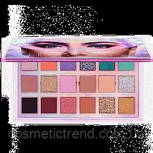 Палетка теней Huda Beauty Mercury Retrograde Eyeshadow Palette (18 цветов) Новинка!