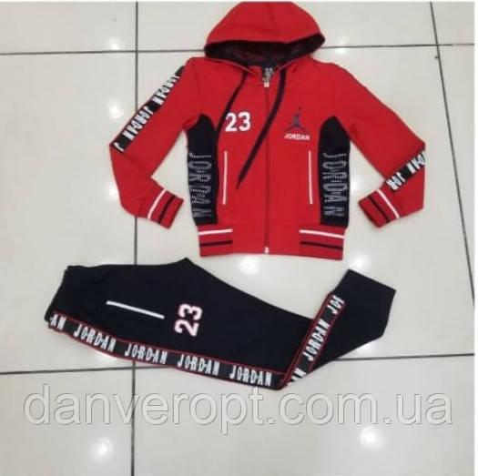 Спортивный костюм подростковый стильный JORDAN на мальчика размер 128-176 см купить оптом со склада 7км Одесса