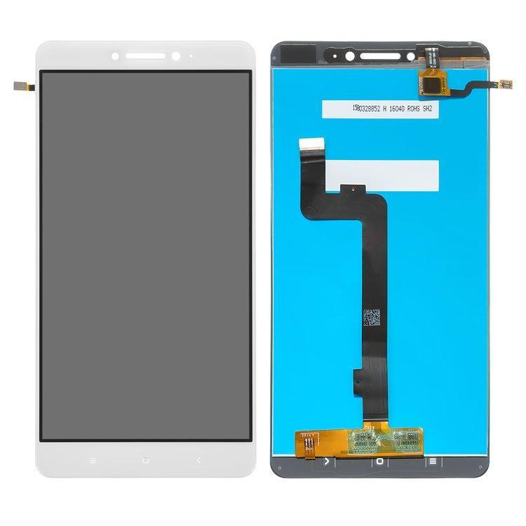 Дисплей (экран) для Xiaomi Mi Max з сенсором (тачскріном) белый Оригинал