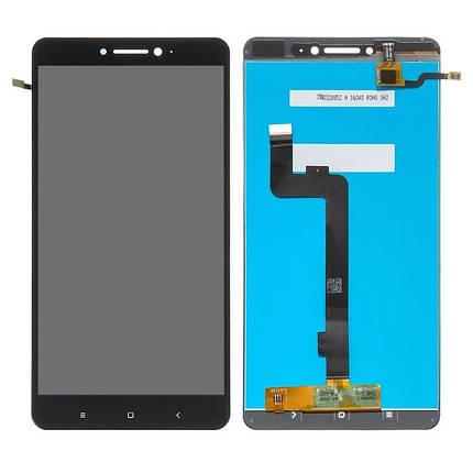 Дисплей (экран) для Xiaomi Mi Max Prime с сенсором (тачскрином) черный, фото 2