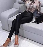 Штани жіночі з еко шкіри, фото 10