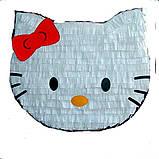 Піньята кішка кішечка паперова для свята піната Кіт котик Кітті піньята, фото 7