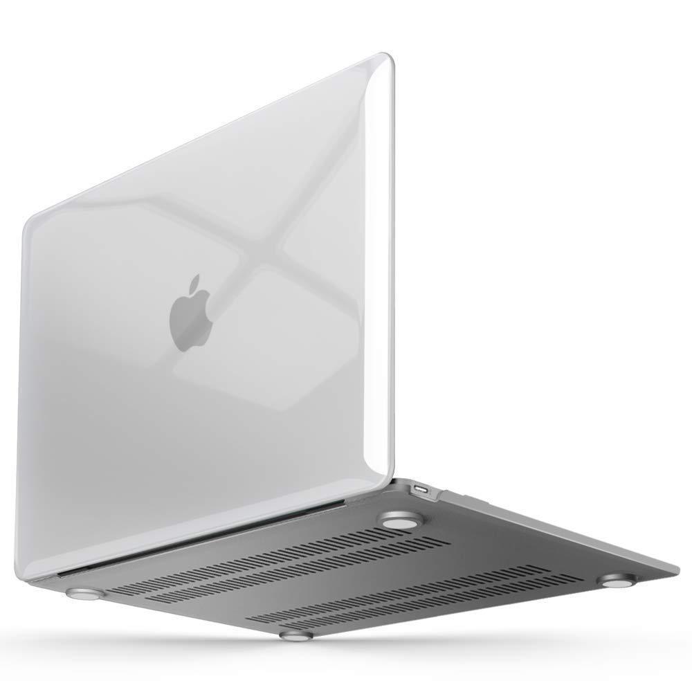 Чехол пластиковая накладка для макбука Apple Macbook 12'' Retina  (A1534) - Прозрачный
