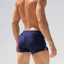 Чоловічі пляжні шорти AQUX ЧОРНІ, Сітка, Кишеня, плавання, купання \чоловічі шорти плавання купання чорні, фото 3