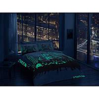 Комплект постельного белья флуоресцентный из сатина