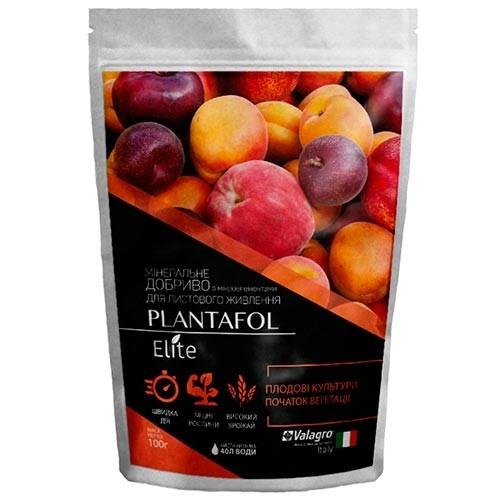 Комплексное минеральное удобрение для плодовых культур Plantafol Elite 100 г Valagro Италия