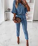 Женский брючный костюм лето, блуза с брюками, разные цвета,  р.s,m,l,xl Код 776Г, фото 2