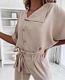 Женский брючный костюм лето, блуза с брюками, разные цвета,  р.s,m,l,xl Код 776Г, фото 6