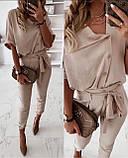 Женский брючный костюм лето, блуза с брюками, разные цвета,  р.s,m,l,xl Код 776Г, фото 4