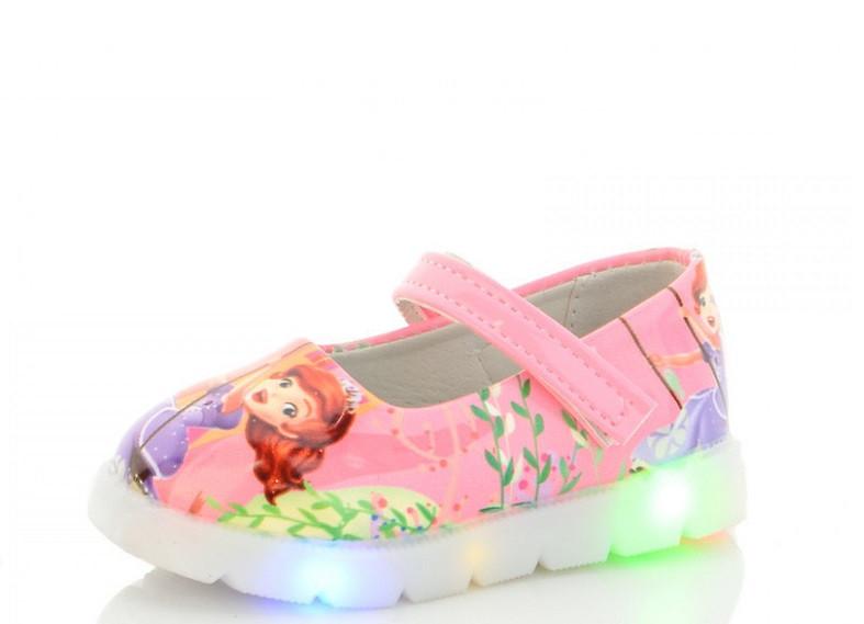 Туфли детские розовые,детские туфли на девочку BBT-Nexter-857-3