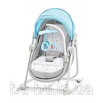 Шезлонг-качалка 5 в 1 Kinderkraft Unimo Light Blue (KKBUNIMLIBL000)