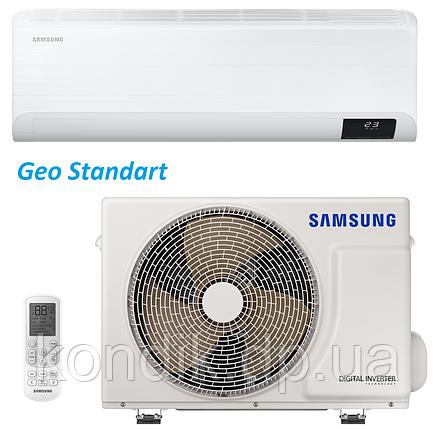 Кондиционер Samsung AR09TSHYAWKNER Inverter Geo Standart, фото 2