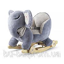 Слоник-качалка с колесиками Kinderkraft (KKZSLONGRY0000)