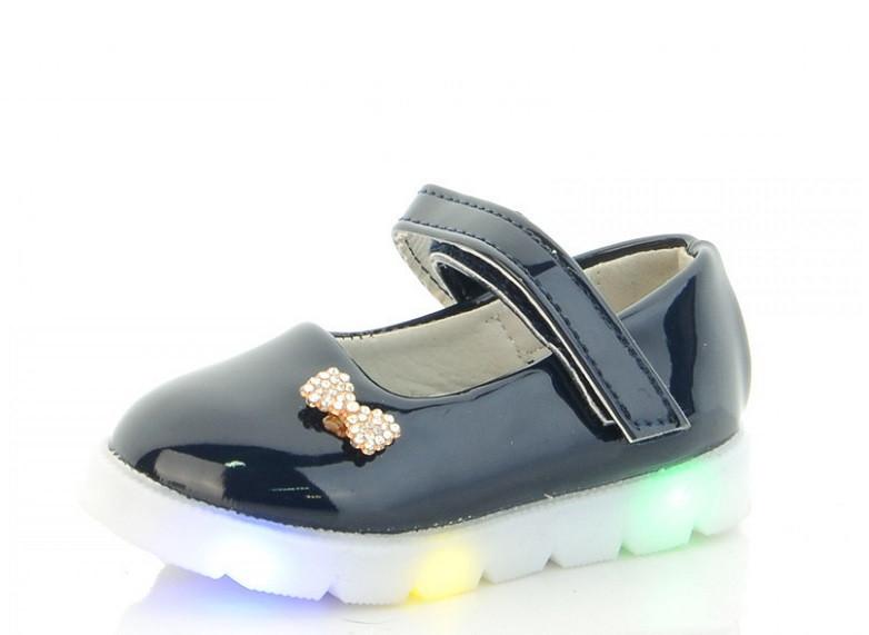 Туфлі дитячі сині,туфлі на дівчинку BBT Nexter-675-5