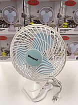 Вентилятор Wimpex WX-707 на прищепке 180мм, фото 3