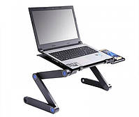 Столик трансформер для ноутбука Laptop Table T8, Подставка для ноутбука, фото 3