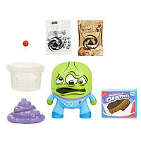 Набор со слаймом  the Hangrees   toilet story collectible parody figure with slime
