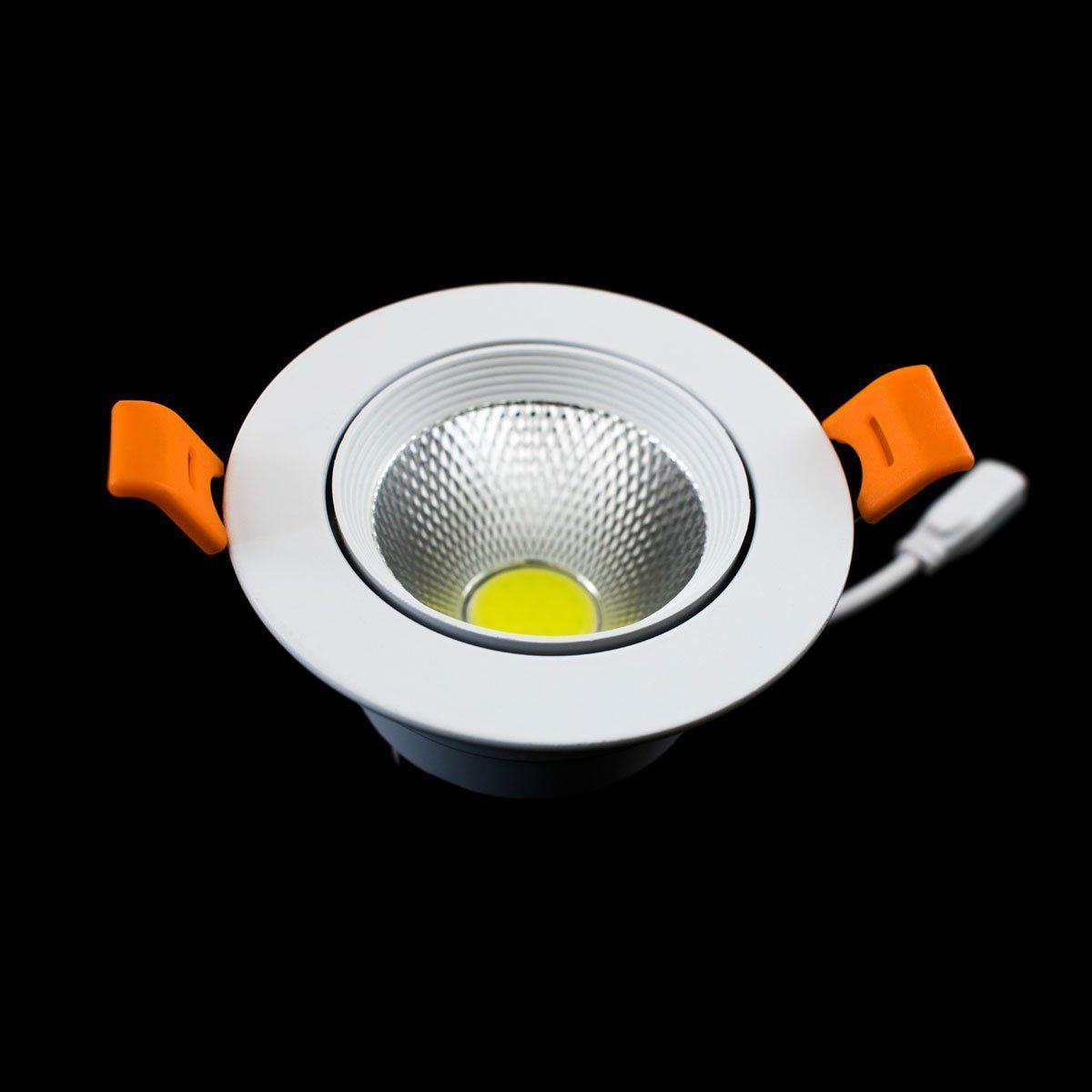 Светильник светодиодный 7Вт круглый 6000K OEM DL-7W-R-COB