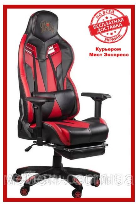 Кресло  Barsky Game Black/Red BG-02