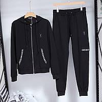 Мужской спортивный костюм Bikkembergs P0423 черный