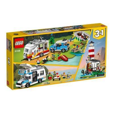 Конструктор LEGO Creator Семейные каникулы с фургоном (3 в 1) 766 деталей (31108)