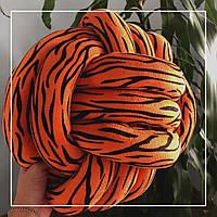 Декоративная подушка-узел-антистресс