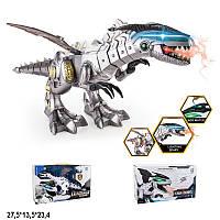 Робот динозавр на батарейках свет звук пар изо рта 881-3, фото 1