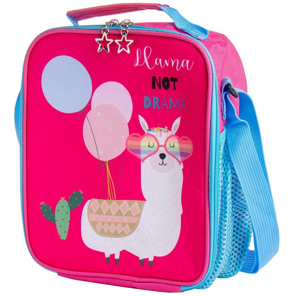 """Термосумка для ланча """"Лама"""" детская сумка-холодильник для обедов в школу, термо-рюкзак"""
