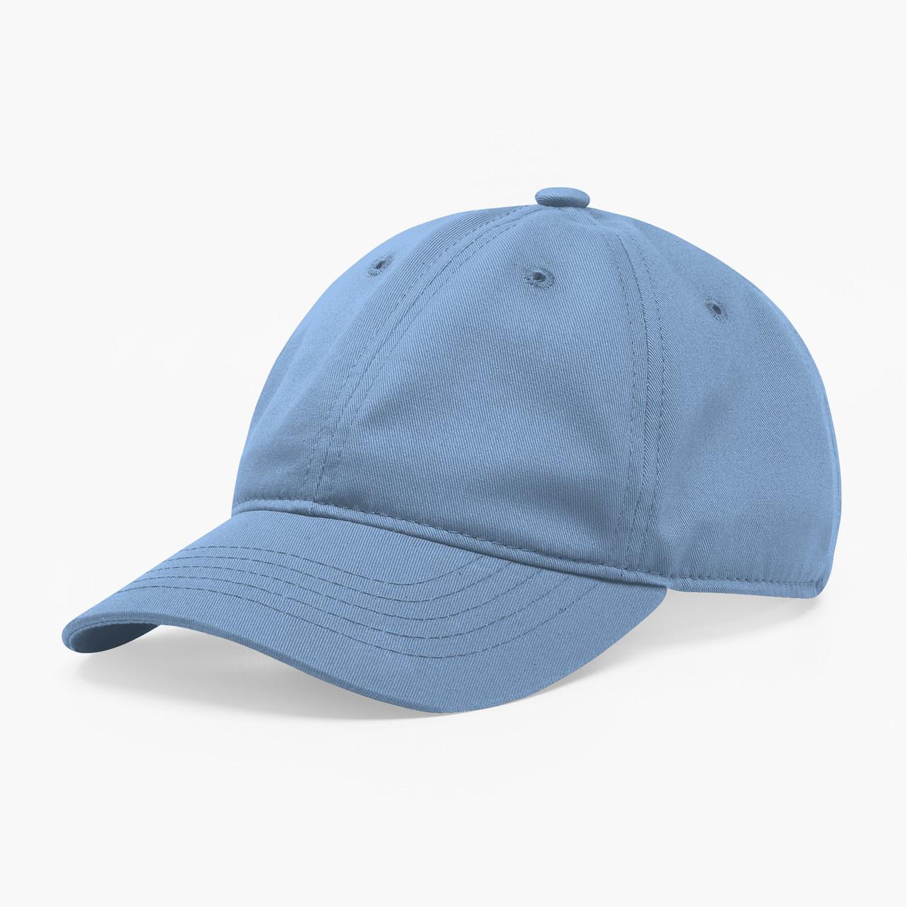 Кепка бейсболка мягкая INAL 6 панелей S / 53-54 RU Синий 97453