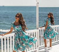 Женское летнее платье.Размеры:42,44,46.+Цвета, фото 1