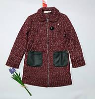 Пальто для девочки букле(осень-весна). (Размер 134-152)