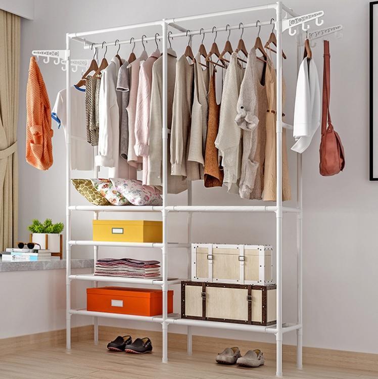 Напольная вешалка для одежды Wardrobe Hanger - стойка стеллаж для одежды