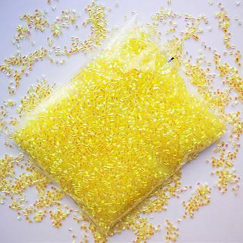Бингсу Бидс (Bingsu Beads)  желтые, 30г (~400мл)