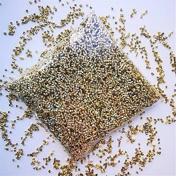 Бингсу Бидс (Bingsu Beads)  золотые, 30г (~400мл)
