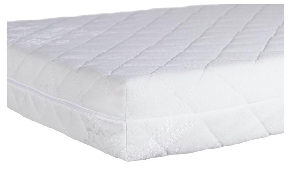 Матрас в детскую кроватку Bamboo Comfort Elite - 10 см (кокос, полиуретан, кокос) белый
