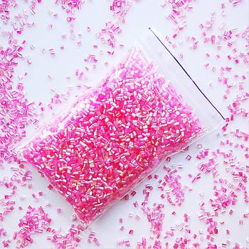 Бингсу Бидс (Bingsu Beads) розовые, 10г (~100мл)